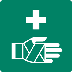 University First Aid Logo