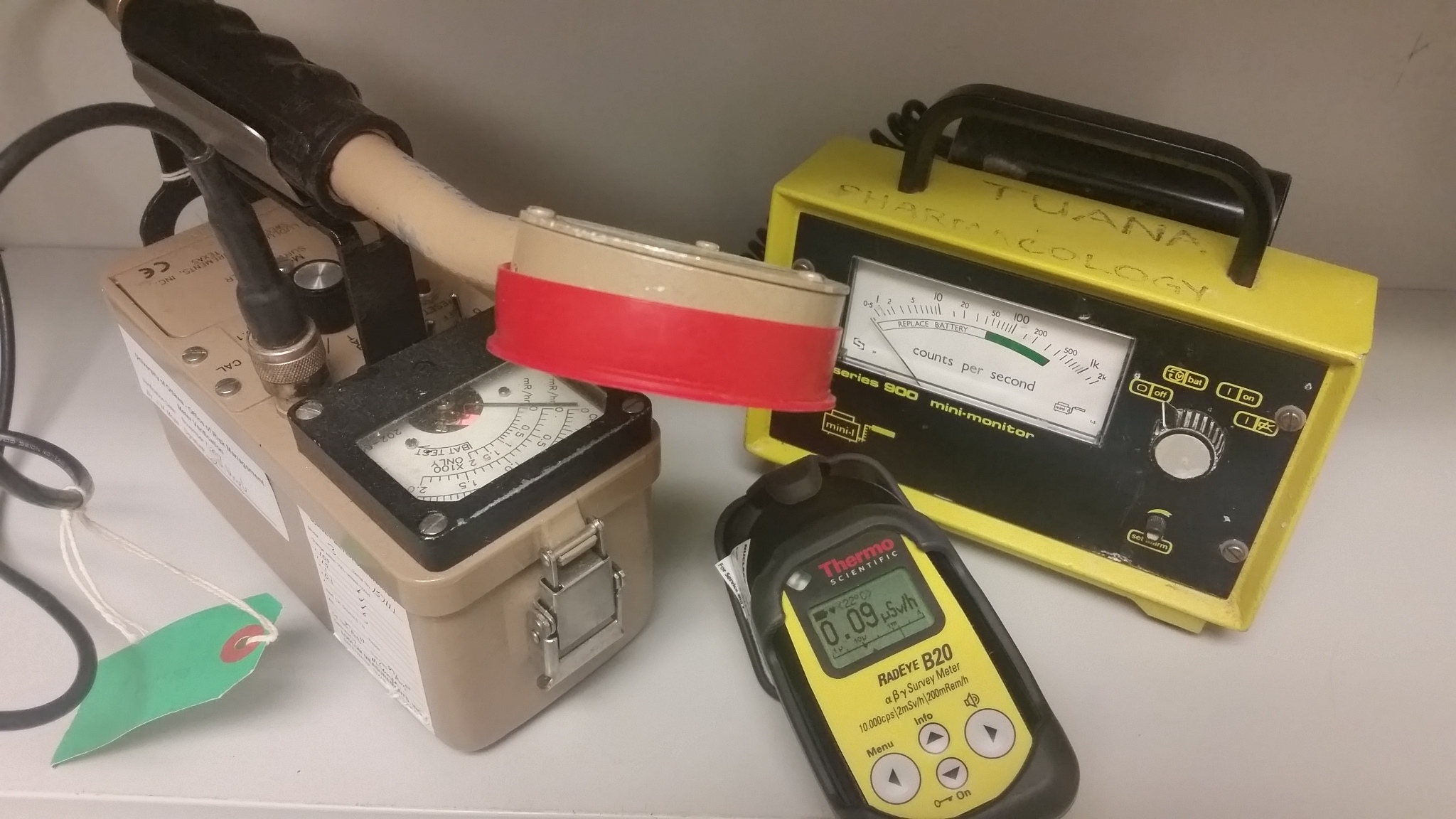 To ensure your survey meter capable of detecting the radioisotopes that you are using