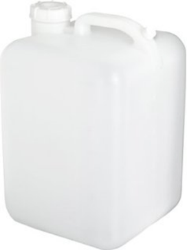 white carboy with screw top cap